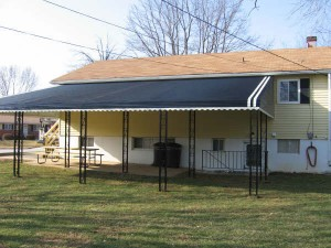 Ready to clean your aluminum awning?