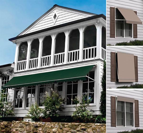 custom residential awnings