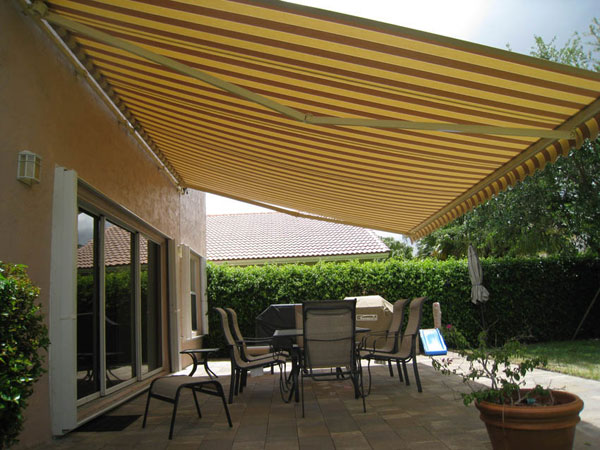 Custom awnings from Carroll Awning Company