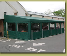 The benefits of commercial awnings