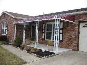 Residential Awnings: Metal vs. Fabric - Carroll ...