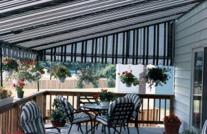 clean awning for curb appeal