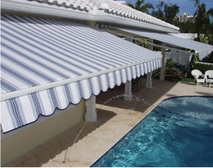 Baltimore custom retractable awnings