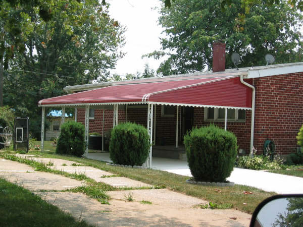 Residential Awnings Photo Gallery Baltimore Md Dc Va