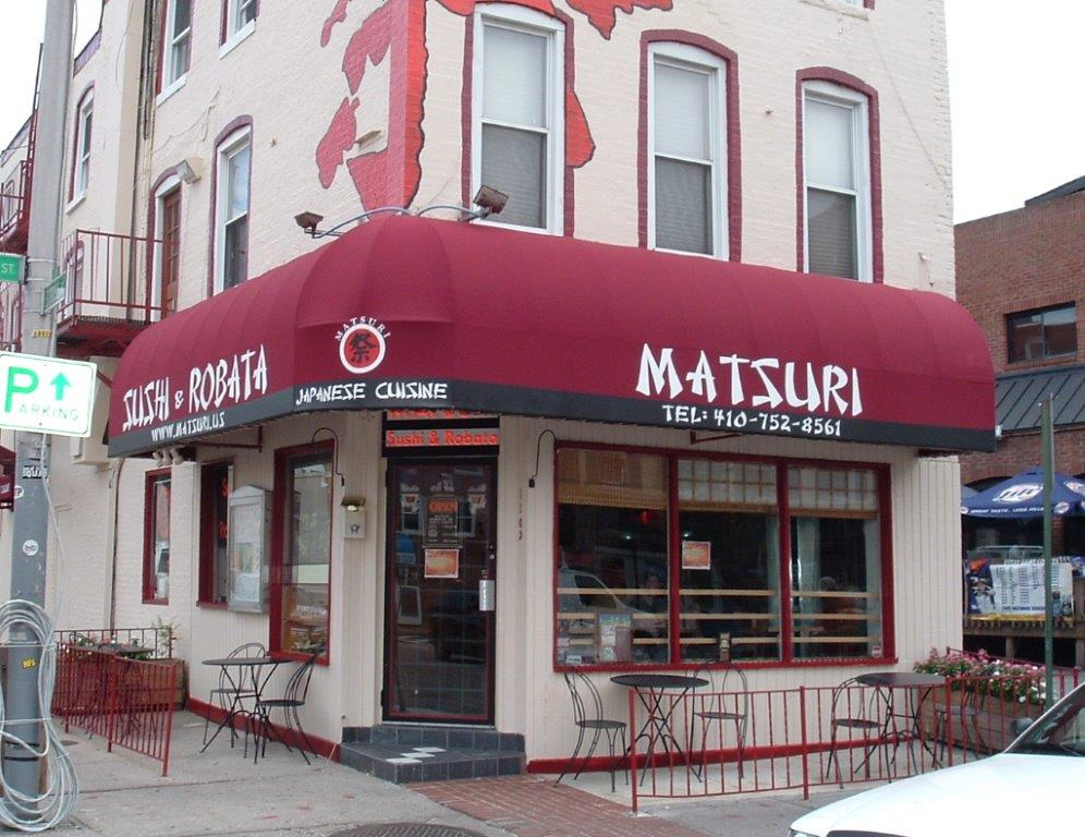 commercial awning in baltimore