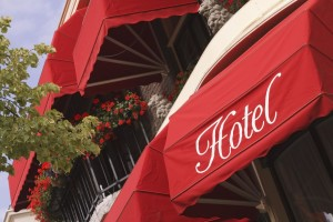 Commercial Awnings for Hotels and Resorts