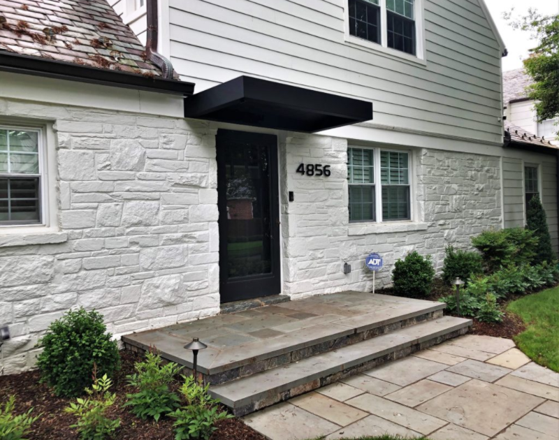 residential entrance awning
