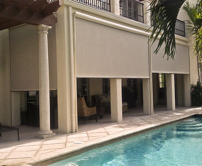 retractable screens from Carroll Architectural Shade