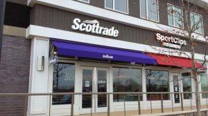 commercial awning color
