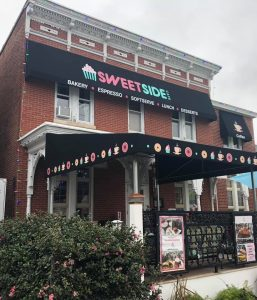 custom commercial awning