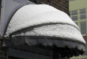 benefits winter awning installation