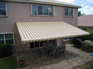 pergolas and retractable awnings