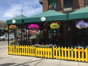 carroll architectural shade restaurant awning
