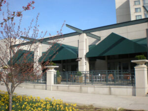 carroll architectural shade top awning company in La Plata