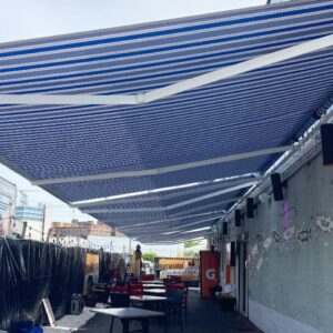 carroll architectural shade retractable commercial awning