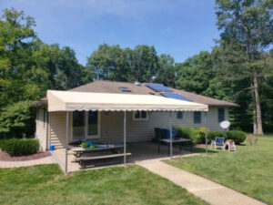 carroll architectural shade top awning company in Cumberland